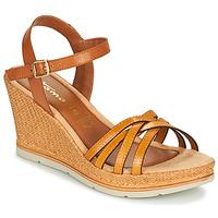 Shoes Women Sandals Tamaris SLOB Cognac / Saffran