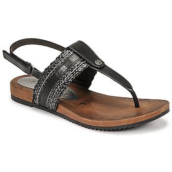 Shoes Women Sandals Tamaris LOCUST Black