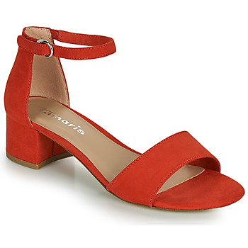 Shoes Women Sandals Tamaris KOLI Red