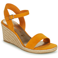 Shoes Women Sandals Tamaris LIVIAN Yellow