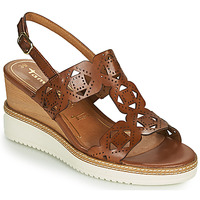 Shoes Women Sandals Tamaris ALIS Cognac