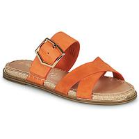 Shoes Women Mules Tamaris LIDYA Orange