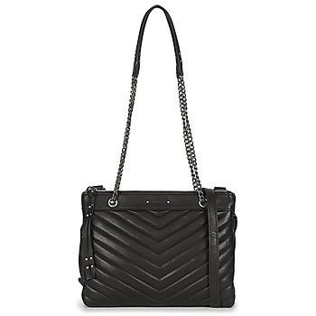 Bags Women Shoulder bags Ikks 1440 REPORTER Black