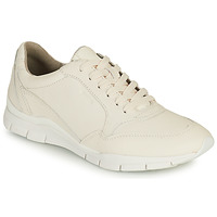 Shoes Women Low top trainers Geox D SUKIE A White