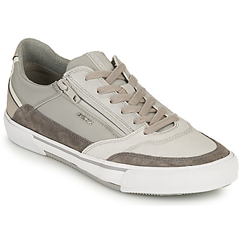 Shoes Men Low top trainers Geox U KAVEN B Grey