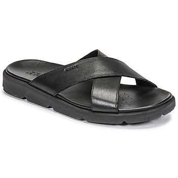 Shoes Men Sandals Geox U XAND 2S C Black