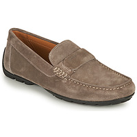 Shoes Men Loafers Geox U MONER A Taupe