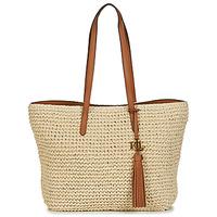 Bags Women Shoulder bags Lauren Ralph Lauren STRAW TOTE-TOTE-MEDIUM Beige