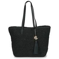 Bags Women Shoulder bags Lauren Ralph Lauren STRAW TOTE-TOTE-MEDIUM Black