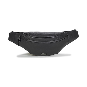Bags Men Bumbags Lacoste SOFT MATE WAISTBAG Black