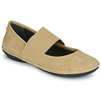Shoes Women Ballerinas Camper RIGHT NINA Beige