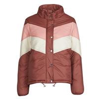 material Women Duffel coats Deeluxe CLAUDINE Red / Pink