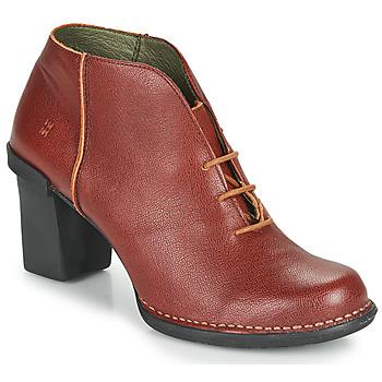 Shoes Women Boots El Naturalista CAPRETTO Brown