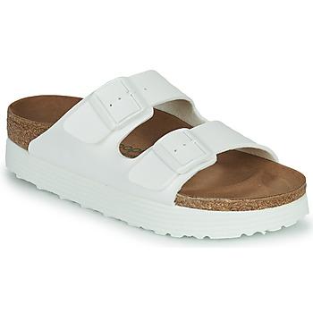 Shoes Women Mules Papillio ARIZONA GROOVED White