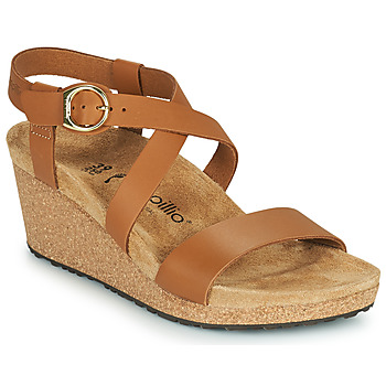 Shoes Women Sandals Papillio SIBYL RING BUCKLE Brown