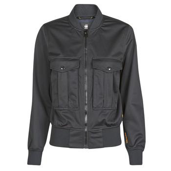 material Women Jackets / Blazers G-Star Raw Rovic aviator bomber wmn Dk /  black / Dk /  black