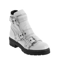 Shoes Women Mid boots André DANDYBIKER White