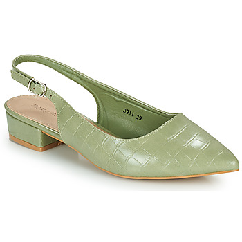 Shoes Women Court shoes Moony Mood OGORGEOUS Green / Almond