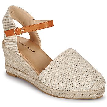 Shoes Women Sandals Moony Mood OCUTE Beige