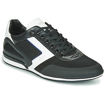 Shoes Men Low top trainers BOSS SATURN LOWP ME Black