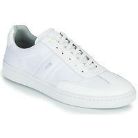 Shoes Men Low top trainers BOSS RIBEIRA TENN NYLT White