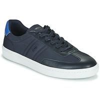 Shoes Men Low top trainers BOSS RIBEIRA TENN NYLT Blue