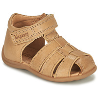 Shoes Children Sandals Bisgaard CARLY Beige