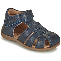 Shoes Children Sandals Bisgaard CARLY Marine