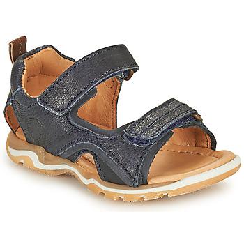 Shoes Boy Sports sandals Bisgaard CASPAR Marine