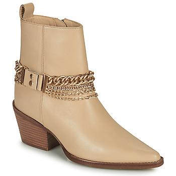 Shoes Women Boots Bronx JUKESON Beige