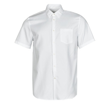 material Men short-sleeved shirts Lacoste FOLLA White