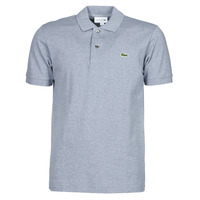 material Men short-sleeved polo shirts Lacoste POLO CLASSIQUE L.12.12 Blue