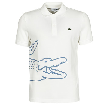 material Men short-sleeved polo shirts Lacoste POLO REGULAR FIT PH9739 White