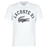material Men short-sleeved t-shirts Lacoste GHOU White