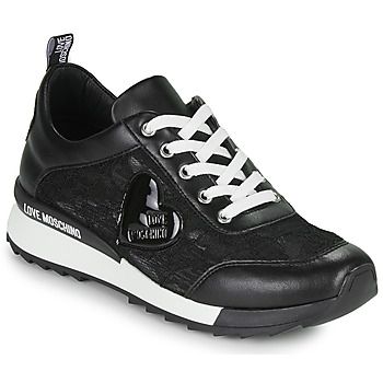 Shoes Women Low top trainers Love Moschino JA15204G1C Black