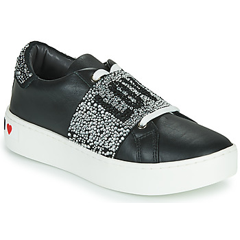 Shoes Women Low top trainers Love Moschino JA15103G1C Black