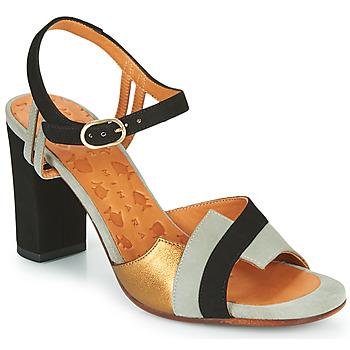 Shoes Women Sandals Chie Mihara Bega Black / Grey