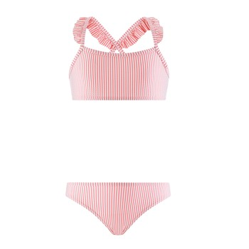 material Girl Swimsuits Petit Bateau MAISSANE Red
