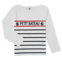 material Boy Long sleeved shirts Petit Bateau MAMBO White