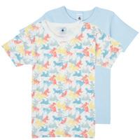 material Boy short-sleeved t-shirts Petit Bateau MANUR Multicolour
