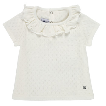 material Girl short-sleeved t-shirts Petit Bateau MELISSA White