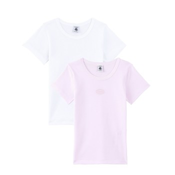 material Girl short-sleeved t-shirts Petit Bateau A00O5-00 Multicolour