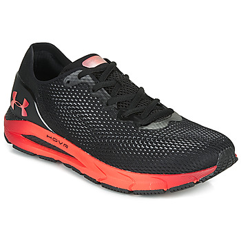 Shoes Men Running shoes Under Armour HOVR SONIC 4 CLR SHFT Black / Red