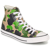 Shoes Men High top trainers Converse CHUCK TAYLOR ALL STAR ARCHIVE PRINT  HI Camouflage