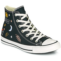 Shoes Women High top trainers Converse CHUCK TAYLOR ALL STAR IT'S OK TO WANDER HI Black