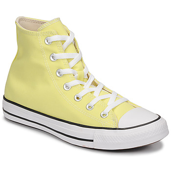 Shoes Women High top trainers Converse CHUCK TAYLOR ALL STAR SEASONAL COLOR HI Yellow