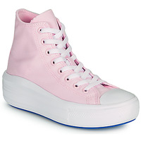 Shoes Women High top trainers Converse CHUCK TAYLOR ALL STAR MOVE ANODIZED METALS HI Pink
