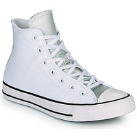 Shoes Women High top trainers Converse CHUCK TAYLOR ALL STAR ANODIZED METALS HI White