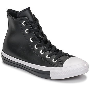 Shoes Women High top trainers Converse CHUCK TAYLOR ALL STAR ANODIZED METALS HI Black
