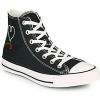 Shoes Women High top trainers Converse CHUCK TAYLOR ALL STAR VALENTINE'S DAY HI Black